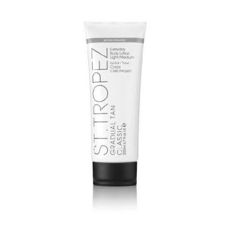 St. Tropez Gradual Tan Classic Body Lotion light/medium Laipsniškas įdegis kūnui šviesaus/vidutinio atspalvio 200ml