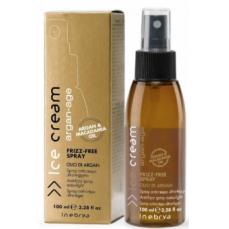 Glotninantis plaukus purškiklis Ice Cream Frizz-Free Spray lengvos tekstūros, tinka visų tipų plaukams, 100 ml