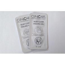 Cliniccare Silky Clear Peeling Gel/ Švelnus valomasis pylingo gelis, 2 ml (mėginukas)