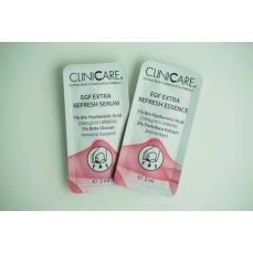 Cliniccare EGF EXTRA REFRESH Serum/ Serumas prieš odos senėjimą, odos atjauninimui, 2 ml