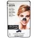 Giliai valančios nosies juostelės IROHA Black Nose Detox Strips Charcoal su anglimi, 5 vnt