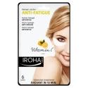 Paakių kaukė Iroha Eye Pads Antifatigue Vitamin C hidrogelinė, su vitaminu C, gaivina odą, 3 poros pagalvėlių