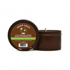 Hemp seed žvakė— 3 in 1 Naked in the woods 170gr