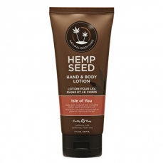 Hemp Seed rankų ir kūno pienelis Isle Of You 207ml.