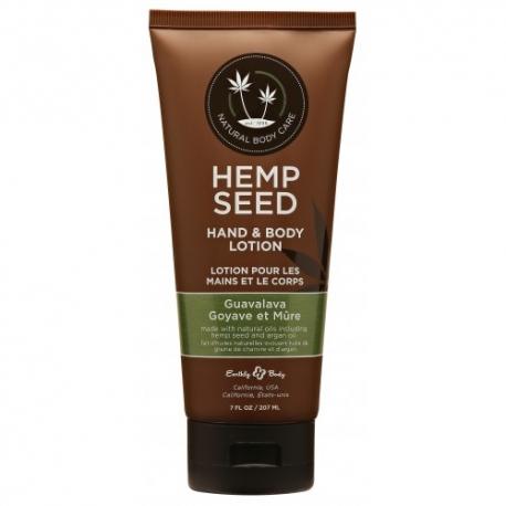 Hemp Seed rankų ir kūno pienelis Guavalava 207 ml.