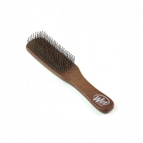WETBRUSH MEN'S DETANGLER vyriškas plaukų šepetys rudas
