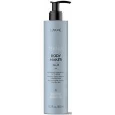 Apimties plaukams suteikiantis balzamas Lakme Teknia Body Maker Balm ploniems ir silpniems plaukams, 300 ml