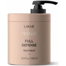 Apsauginė kaukė plaukams Lakme Teknia Full Defense Treatment žalingo aplinkos poveikio paveiktiems plaukams, 1000 ml