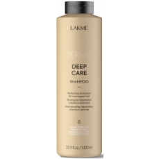 Atstatomasis šampūnas plaukams Lakme Teknia Deep Care Shampoo sausiems ir lūžinėjantiems plaukams, 1000 ml