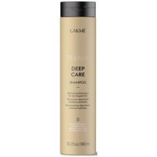 Atstatomasis šampūnas plaukams Lakme Teknia Deep Care Shampoo sausiems ir lūžinėjantiems plaukams, 300 ml