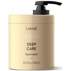 Atstatomoji kaukė plaukams Lakme Teknia Deep Care Treatment sausiems ir lūžinėjantiems plaukams, 1000 ml