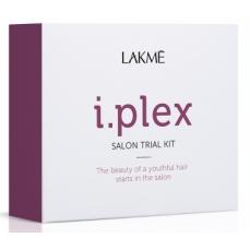 Atstatomųjų plaukų priežiūros priemonių rinkinys Lakme i.plex Trial Kit 3x100 ml