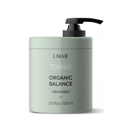 Drėkinamoji kaukė plaukams Lakme Teknia Organic Balance Treatment 1000 ml