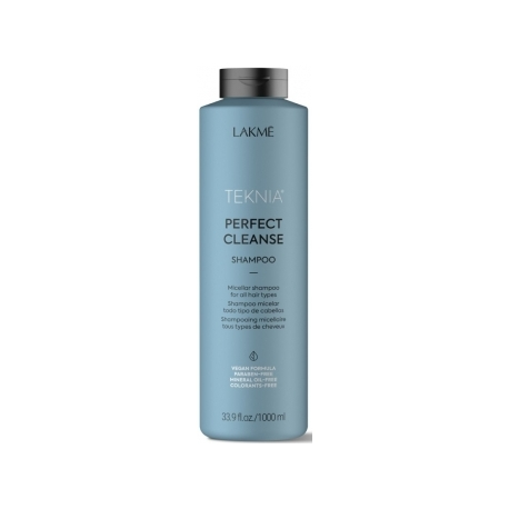 Valomasis šampūnas plaukams Lakme Teknia Perfect Cleanse Shampoo 1000 ml