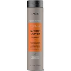 Vario spalvą paryškinantis šampūnas Lakme Teknia Saffron Copper Shampoo 300 ml