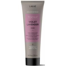 Violetinę spalvą paryškinanti kaukė Lakme Teknia Violet Levender Mask 250 ml