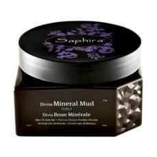 Saphira Kaukė-mineralinis purvas plaukams Divine Mineral Mud, intensyviai drėkinantis, besipučiantiems plaukams, 250 ml