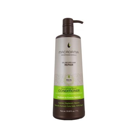 Macadamia Maitinamasis, drėkinamasis kondicionierius sausiems plaukams Nourishing Repair Conditioner, 1000 ml