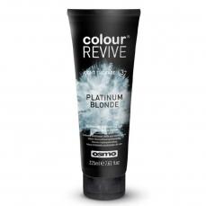 Dažanti, plaukus kondicionuojanti kaukė Osmo Colour Revive Platinum Blonde 225 ml