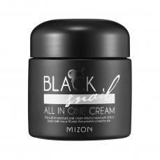 Daugiafunkcinis veido kremas Mizon Black Snail All in One Cream su juodųjų sraigių ekstraktu, 75 ml