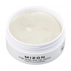 Hidrogelio paakių pagalvėlės su baltaisiais perlais Mizon Pure Pearl Eye Gel Patch 60 pagalvėlių