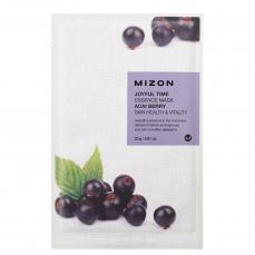 Veido kaukė Mizon Joyful Time Essence Mask Acai Berry, su acai uogomis, 23 g