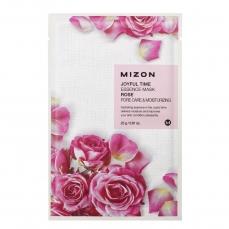 Veido kaukė Mizon Joyful Time Essence Mask Rose su rožėmis, 23 g