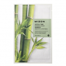 Veido kaukė Mizon Joyful Time Essence Mask Bamboo su bambuku, 23 g