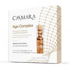 Ampulės veido odai Casmara Age Complex Ampoule, skirtos amžiaus paveiktai odai, 2.5 ml, 5 vnt.