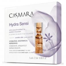 Ampulės veido odai Casmara Hydra Sensi Ampoule, drėkinančios, atgaivinančios veido odą, 2.5 ml, 5 vnt