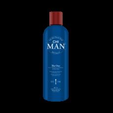 CHIMAN plaukų šampūnas, kondicionierius ir kūno prausiklis 3 in 1 THE ONE 355ml