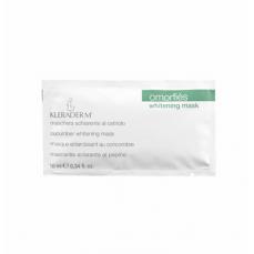 Kleraderm WHITENING MASK/Balinamoji kaukė su agurkų ekstraktu, 10 ml