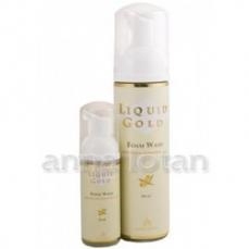 Anna Lotan Liquid Gold Putos makiažui valyti su šaltalankių aliejumi, 200 ml