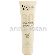 Anna Lotan Liquid Gold apsaugine emulsija SPF30, 100ml