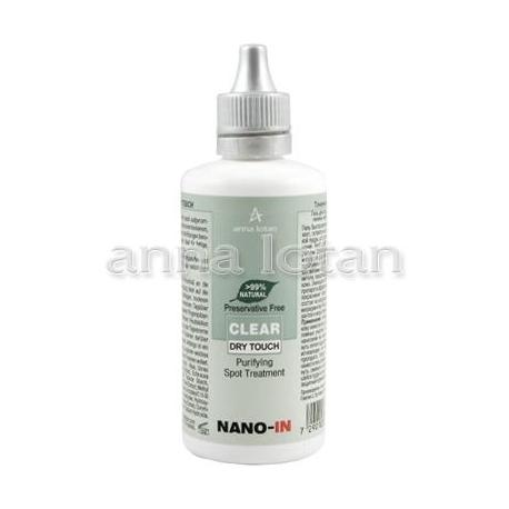 Anna Lotan Clear Dry Touch spuogų valomoji želė, 50ml
