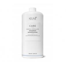 Keune CARE šampūnas nuo pleiskanų atsiradimo DERMA EXFOLIATE 1000ml