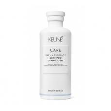 Keune CARE šampūnas nuo pleiskanų atsiradimo DERMA EXFOLIATE 300ml