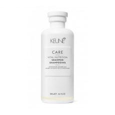 Keune CARE šampūnas sausiems, pažeistiems plaukams VITAL NUTRITION 300ml