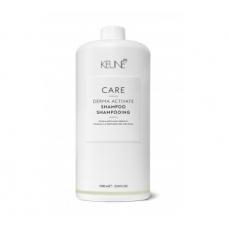 Keune CARE šampūnas silpniems ir slenkantiems plaukams DERMA ACTIVATE 1000ml