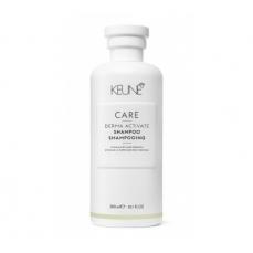 Keune CARE šampūnas silpniems ir slenkantiems plaukams DERMA ACTIVATE 300ml