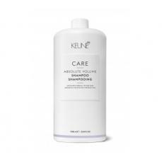 Keune CARE šampūnas, didinantis plaukų apimtį ABSOLUTE VOLUME 1000ml