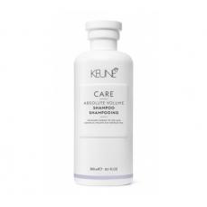 Keune CARE šampūnas, didinantis plaukų apimtį ABSOLUTE VOLUME 300ml