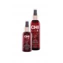 CHI Rose Hip Oil atkuriamasis ir spindesio suteikiantis nenuskalaujamas tonikas su erškėtuogių aliejumi, 118 ml