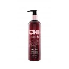 CHI Kondicionierius dažytiems plaukams su erškėtuogių aliejumi 340ml