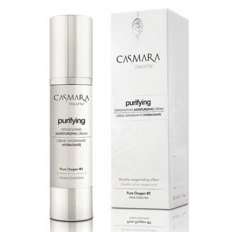 Casmara Purifying Pure Oxygen 01 /Drėkinamasis veido kremas, deguoninis, 50 ml