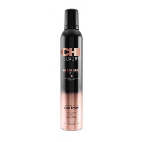 CHI LUXURY lanksčios fiksacijos plaukų lakas 340 g